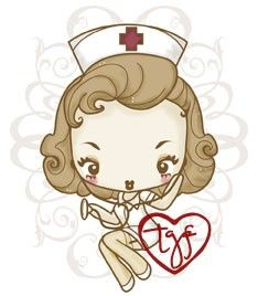 The Greeting Farm Cheeky Nurse Cling Rubber Stamp Special Edition