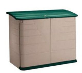 Rubbermaid Home Products 325 3747 01 OLVSS Storage Shed Olive Green