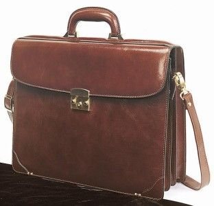 Goodhope Bags Bellino Wall Street Leather Briefcase
