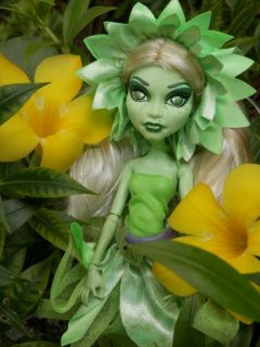 Monster High OOAK Custom Fiora Petal Flower Fairy Doll