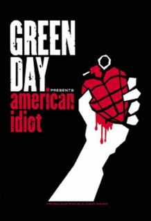Green Day Poster Flag American Idiot Tapestry Punk New