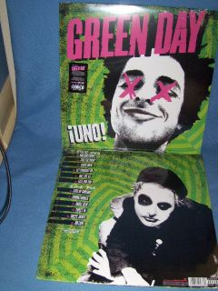 Green Day Uno Vinyl LP SEALED New Parental Advisory Explicit Content