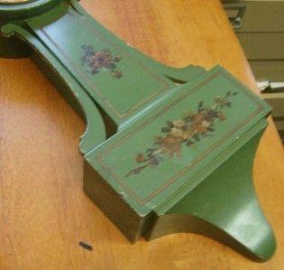Thomas Banjo Clock Original Green Painted Working Grenville