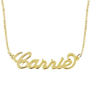 Personalized Name Necklace 18k Gold Plated Custom Made Choose any Name