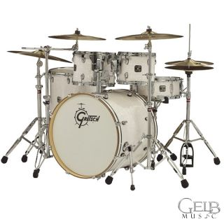 Gretsch   Catalina Birch 6 Piece Drum Kit BR E8256 WP (White Pearl