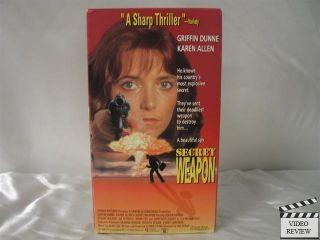 Secret Weapon VHS Griffin Dunne Karen Allen 053939615937
