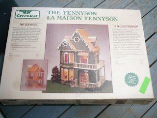 Greenleaf Dollhouse Tennyson 3 Story Kit 99 Wood Box 23x15x30