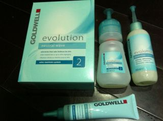 Goldwell Evolution Neutral Wave Color Maintain System Hair Perm Lotion