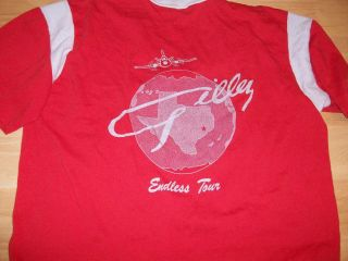 Vtg Mickey Gilley Endless Tour Concert Jersey T Shirt GilleyS