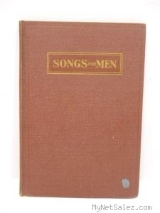 Songs for Men Antique Gospel Song Book for Male Quartets and Choruses