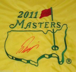 Ryo Ishikawa Signed Autographed Masters Golf Pin Flag
