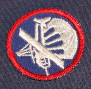 Officers Parachute Glider Airborne Cap Patch WWII Combined