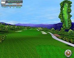 New Indoor Home Golf Simulator Software System Practice Golfing Net