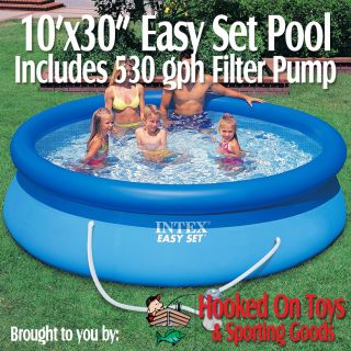 30 in Easy Set Above Ground Swimming Pool w Filter Pump 56921