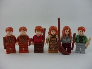 Harry Potter Weasley Family Arthur Molly Fred George Ron and Ginny