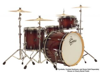 Gretsch Renown Maple 3 Piece Rock Drum Kit Cherry Burst