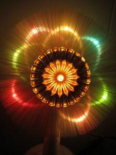Vintage Fiber Optic Christmas Tree Top Light