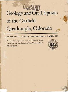 geology ore deposits garfield co mining gold silver time left