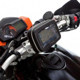 Handlebar Mount Waterproof Case for Up to 6inch SAT Nav GPS