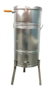 New Scratch Dent Large Two 2 Frame Stainless Steel Honey Extractor 304