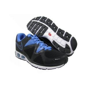 New Nike Womens Air Max Turbulence 17 Black Blue Running Shoes US