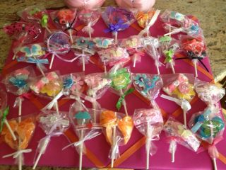 Mixed Lots Lollipop Hair Girls Barrettes Birthday Party Favors Fun