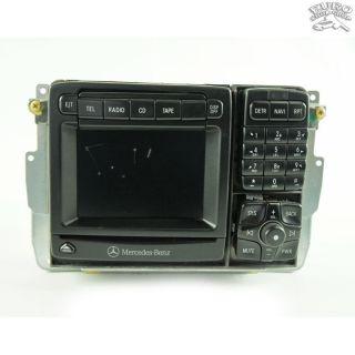 COMAND NAVIGATION GPS RADIO UNIT Mercedes W215 W220 00 01 CL500 S430