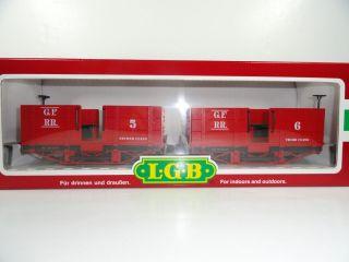 New LGB Grizzly Flats Passenger Cars 30440 Lehmann