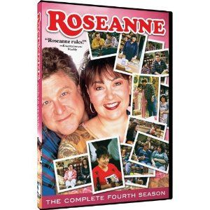 Roseanne The Complete Fourth 4 Four Season DVD 2012 3 Disc Set New