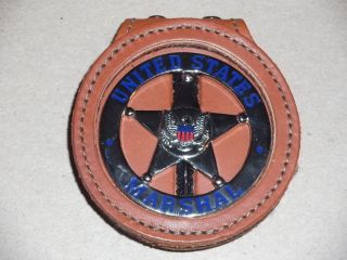 US Marshal Raylan Givens Justified Correct Badge Holder