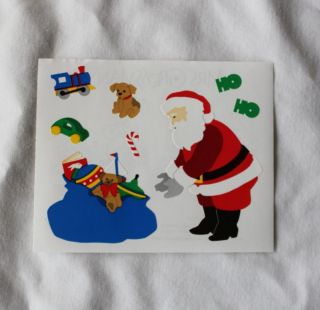 Mrs Grossman Sticker Lot 10 Sheets Christmas Santa Presents