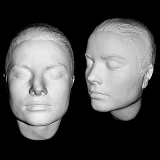 GRACE KELLY Rare Life Mask 3 4 Head Life Cast Finished in Natural