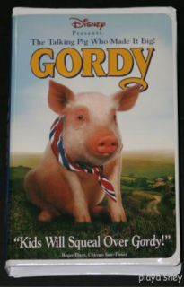 Disney Gordy VHS