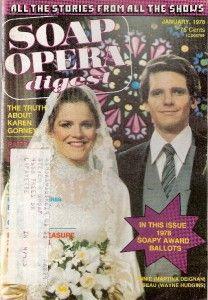 Soap Opera Digest Jan 1978 Annie Beau Spencer Wedding Magazine Atwt