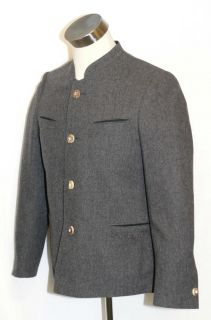Zeiler Gray Wool Men German Hunting Gorsuch Dinner Dress Suit Jacket