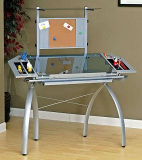 Studio Designs Futura Glass Craft Station Table Tower