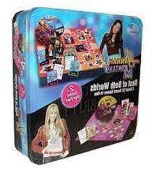 NIP $25 Disney Hannah Montana Games Best of Both Worlds CD Board