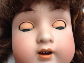 Old 27 German ABG, Alt Beck Gottschalk Bisque Head & Composition Doll