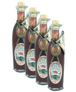 Pure Habanero Red Savina Gourmet Pepper Sauce 4 Pack