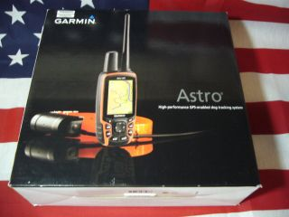 Garmin Astro 320 Bundle GPS Dog Tracking Collar DC 40