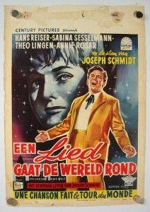 SABINE SESSELMANN HANS REISER JOSEPH SCHMIDT STORY GERMANY 1958