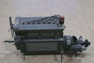 Pocher Bugatti Engine Transmission