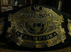 WWE Undisputed Championship Replica Belt Adult Size