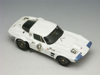 Corvette Grand Sport 1964 Road America 3° 67 Marsh Models 1 43 MM013C