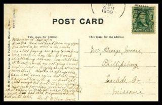 Montana Postcard Typical Montana Ranch Scene Near Glendive 1909