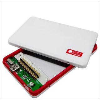 USB 2 0 1 8 inch Hard Disk Drive HDD CF Box Case ★