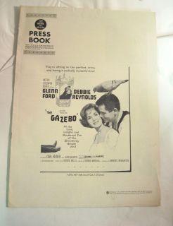 1959 Movie Press Book The Gazebo Glenn Ford Reynolds