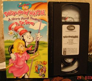 VHS Video Mint Condition Hanna Barbera Low SHIP 053939801934