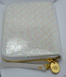 Kirks Folly Glitter Goddess Organizer Clutch Purse