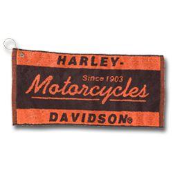 Harley Davidson Motorcycles Kitchen Bath Towel New